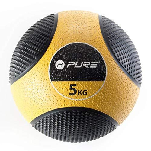 Pure 2Improve Medizinball, gelb, 5kg