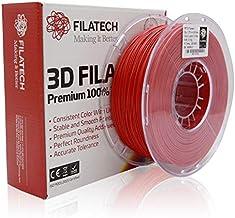 Filatech PETG Filament-1.75mm-Lumin. Dark Red-1.0KG - Made in UAE