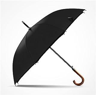 العلامة التجارية طويلة مظلة مقبض خشبي اليابانية شبه التلقائي كبير مظلات المطر الرجال 8 كيلو ويندبروف ويندبروف غواردا chuva...