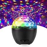 Luci Discoteca LED, FOCHEA 16 Colori Bluetooth Palla da Discoteca Luce USB con Telecomando per Natale, Bar, Festa, Club, Car, Xmas, Regalo