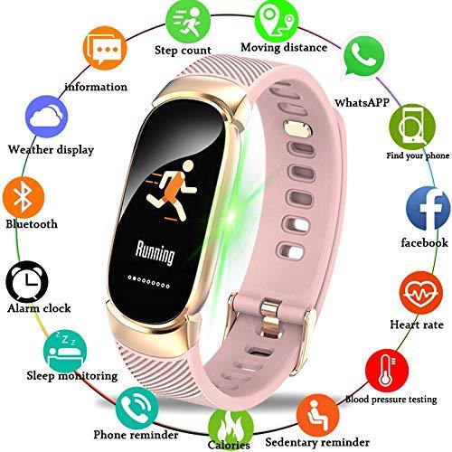 LIGE Sport Smart Armband Vrouwen Mannen Waterdichte Smart horloge hartslag Bloeddruk stappenteller Smart Polsband for Android iOS