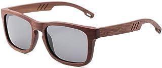 3032e90119 UV400 Gafas de Sol polarizadas de Madera/Gafas Hechas a Mano para Lentes de  Hombre