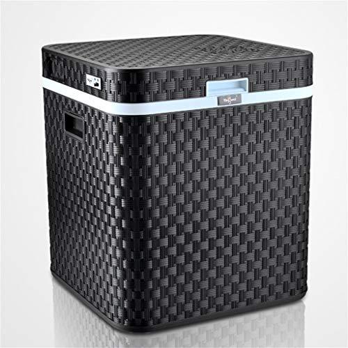 48L 12V DC 220V AC Koeling verwarming koelkast mini klein huis mini auto met dubbele gebruiksdoel De koelkast buitenafmetingen: 45 x 45 x 52 cm Binnenafmetingen: 33,5 x 33,5 x 39cm8f