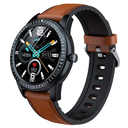 XYZK [Llamada Bluetooth] Y92 Smart Watch Monitor De Ritmo Cardíaco Música Local Reproducción Smartwatch Hombres Y Mujeres Relojes para iOS Android,C
