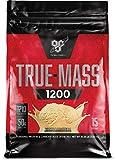 BSN TRUE-MASS Weight Gainer, Muscle Mass Gainer Protein Powder, Vanilla Ice Cream, 10.25 Pound