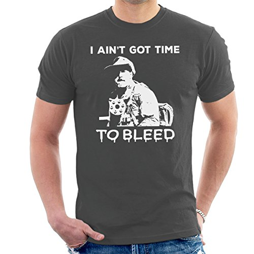 Predator 80s Movie Quote I Ain't Got Time To Bleed T-shirt