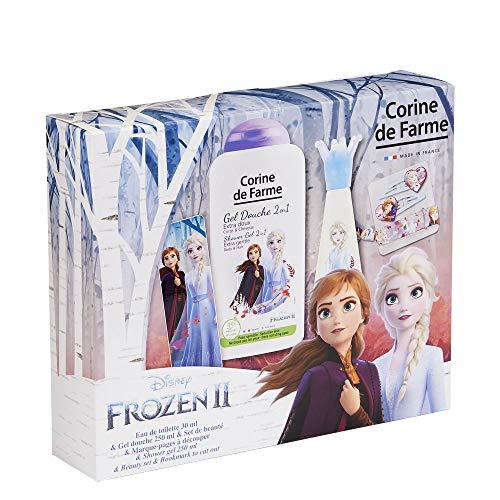 Corine de Farme Corine de farme | eiskönigin geschenkset | kinderduft | duschgel für kinder | haarspange mädchen | kinder-armband | französisches produkt