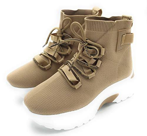 Zapatillas Calcetín Para Mujer. Deportivas Estilo Malla. Muy Cómodas. No Pesan. Color (Numeric_38)