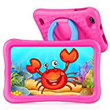 "VANKYO MatrixPad S8 8 inch Kids Tablet, Android 9.0, 2GB RAM, 32GB ROM, Kidoz Pre Installed, 8"" IPS HD Display, WiFi Tablet, Kid-Proof, Pink"