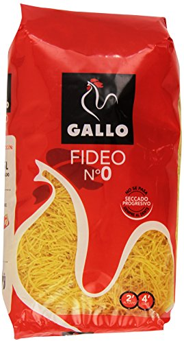 Gallo - corta - Fideo No.0 - 450 grs