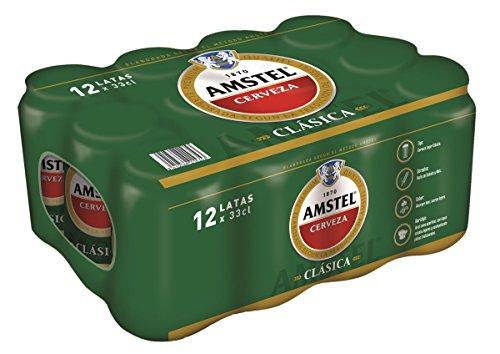 Bier Amstel Klassisch 12x33cl (Pack 12 Dosen)