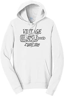 Tenacitee Unisex Aged Like a Fine Wine 1975 Hooded Sweatshirt
