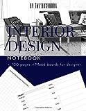 Interior Design Notebook: Designer's Sketchbook, 8.5