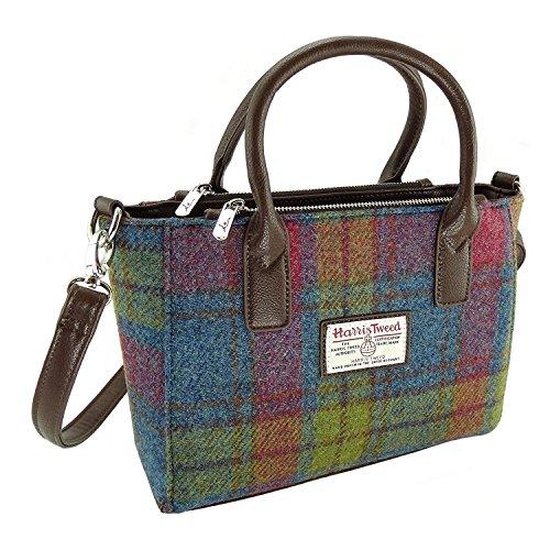 Quirky Harris Tweed Ladies Small Tote Bag