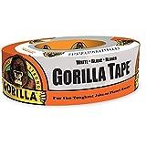Gorilla ホワイトダクトテープ 1.88インチ x 30ヤード ホワイト (1パック)