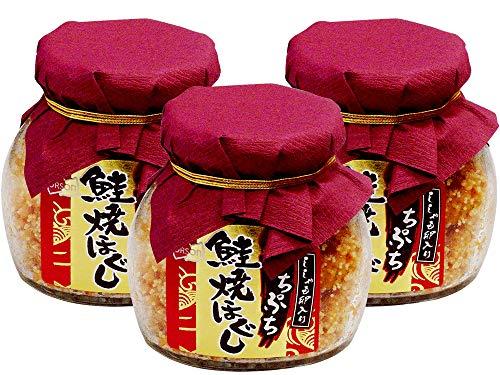 ぷちぷち鮭焼ほぐし58g シシャモ卵入り×3個 (サケフレークにししゃもの卵が入りました) 北海道産さけ使用
