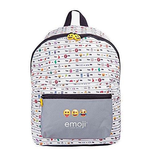 PERLETTI PERLETTI1362240x 30x 18cm Emoji design 1zaino con tasca frontale