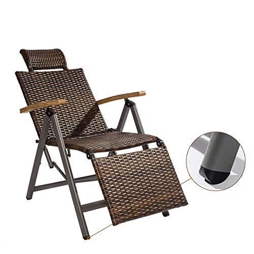 DD- Balancelle, Chaise Longue, Bains de soleil, Chaises pliantes, Chaise Pliante, Chaise de Maison Paresseux, Chaises Pliantes Extérieures Sièges extérieurs (Couleur : A)