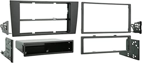 Metra 99-9105 Double DIN or Single DIN Dash Installation Kit for 2000-2001 Audi A4