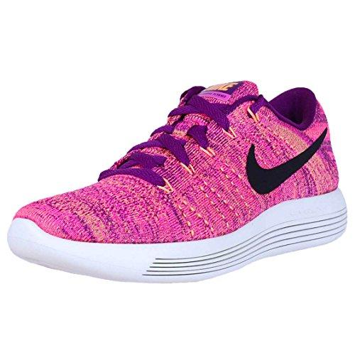 Nike Damen 843765-500 Traillaufschuhe, Lila/helle Traube/Schwarz/Feuer-Pink/Pfirsich-Creme, 38 EU