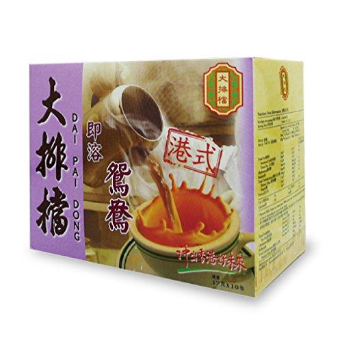 香港 大排當 インスタント 3 イン 1 鴛鴦(ユンヨン) コーヒー x ミルクティー 17g x 10P [並行輸入品]