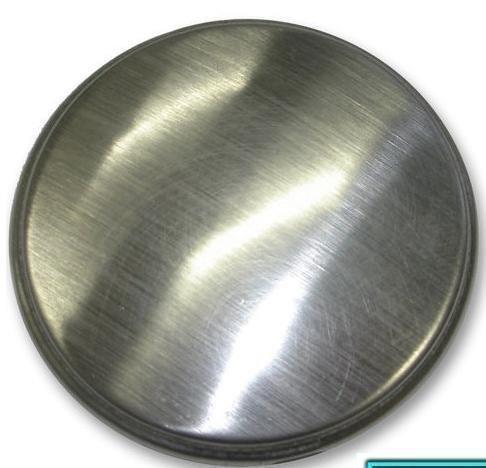 Plaque d'obturation pour trou de robinet d'évier de cuisine.
