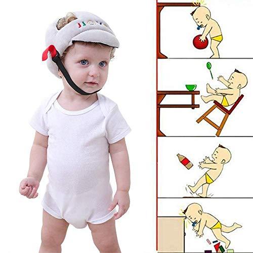 Bebé anti-caída tapa de protección de la cabeza del niño del sombrero de anticolisión casquillo de la cabeza el casco de seguridad para niños sombrero resistente a los golpes