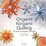 Origami, kirigami, quilting