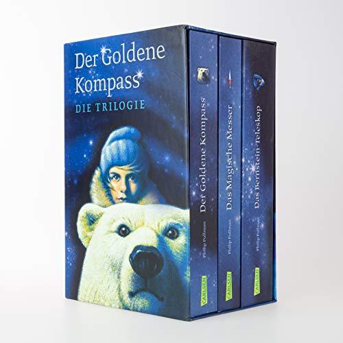 His Dark Materials: Der Goldene Kompass-Schuber, Das Magische Messer, Das Bernstein-Teleskop