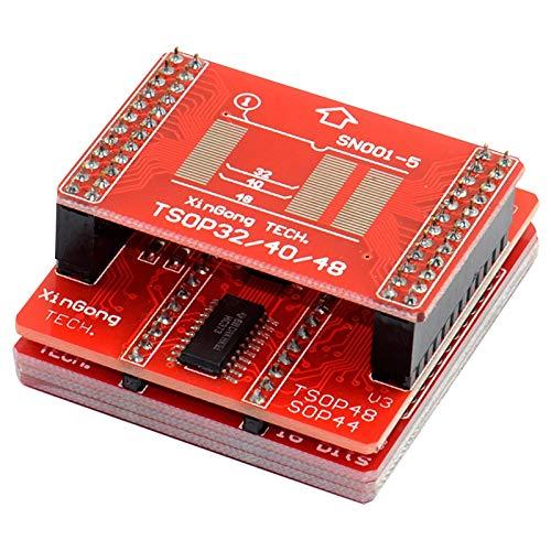Nrpfell Programmier Tsop32 Tsop40 Tsop44 Sop56 Kit für Minipro Tl866 Tl866A Tl866Cs