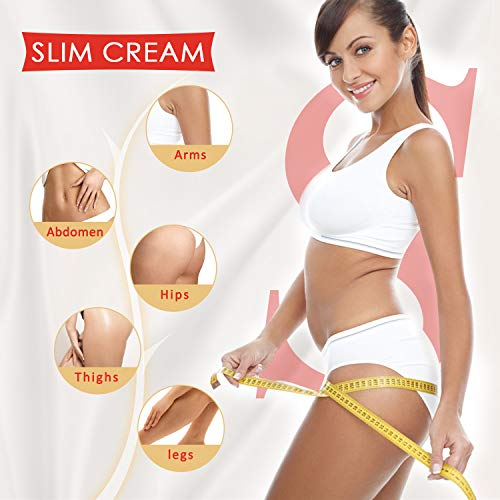 Hot Cream 2 Pack, Cellulite Removal Cream Natural Slimming Firming Body Cream, Anti Cellulite Fat Burner for Shaping…