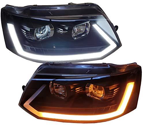 Scheinwerfer schwarz SWV42LGXBAY Tagfahrlicht dynamischer LED Blinker Laufblinker