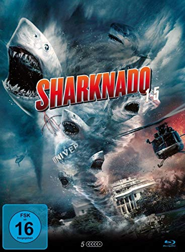Sharknado Box (Vol. 1-5) Blu-ray Edition [Blu-ray]