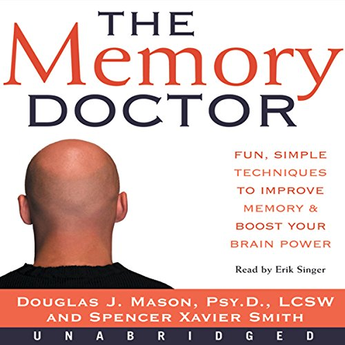 The Memory Doctor audiobook cover art