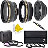 40.5mm Lens Filter Kit (Wide Angle, Telephoto, Filters, Macro Kit, Lens Hood) For For Samsung NX2000 NX1100 NX1000 NX500 NX300 NX210 NX200 NX110 NX100 NX30 NX20 NX11 20-50mm