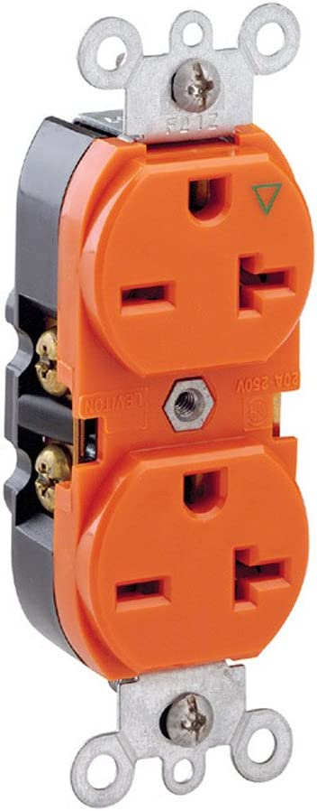 Leviton 5462-IG 20 Max 46% OFF Amp 250 Atlanta Mall Volt Industrial Duty D Grade Heavy