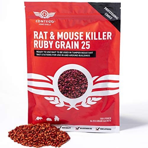 Contego Home Shield Professional Choice Poison (6 x 25g) Fast Acting Ruby...