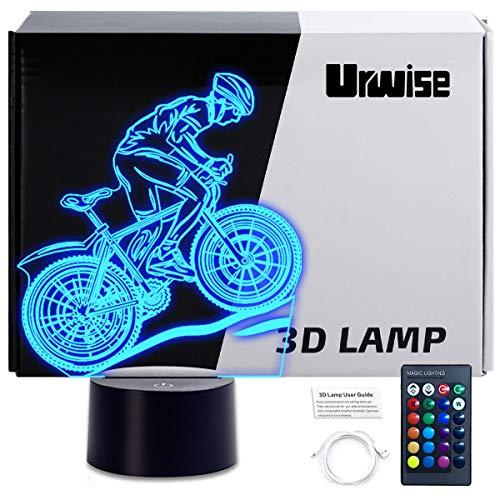 Biking 3D Night Lamp