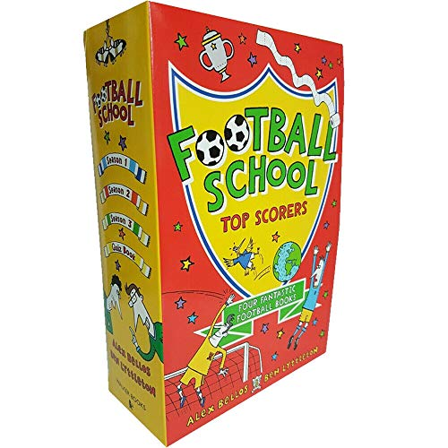 Football School Series Top Scorers 4 Books Collection Box Set By Alex Bellos & Ben Lyttleton (Where Football Explains The World – Rules, Saves, Tackles, The Amazing Quiz Book)