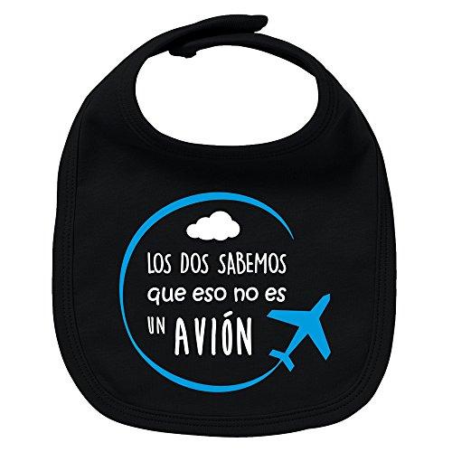 ClickInk Babero bebé niño niña Avión