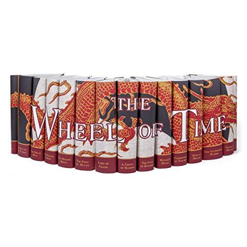Juniper Books The Wheel of Time Dust Jackets ONLY| 15 - Volume Custom Designed Dust Jackets (Books NOT Included) | Author Robert Jordan & Brandon Sanderson
