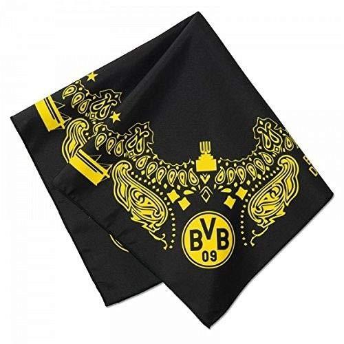 BVB herenbandana, zwart/geel, één maat, 2466634