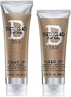 Tigi Bed Head Men Clean Up Combo Shampoo 8.45 Oz. Conditioner 6.76 Oz