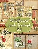 Wildflower Junk Journal Kit: Ephemera For Junk Journals Cottagecore Paper Collection Page Embellishments
