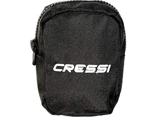 Cressi Back Weight Pockets - Buceo peso bolsills, Negro