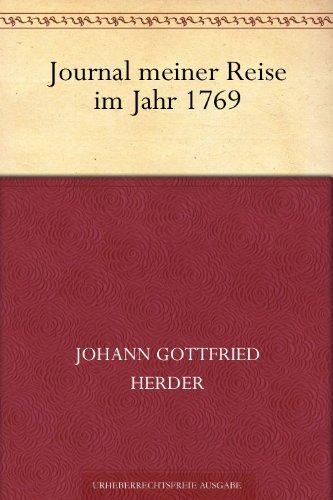 Journal meiner Reise im Jahr 1769