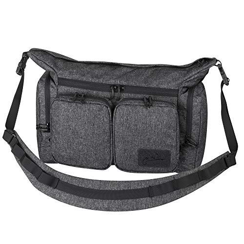 Helikon-Tex Wombat Mk2 - sac à bandoulière urbain, Mixte, Mélange noir/gris., taille unique