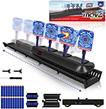 GH DYNAMICS Moving Shooting Target for Nerf Gun Toy, Electronic Scoring Targets with Updated Moving and Static Modes, Ideal Gift Toy for 6 to 16 Years Old Boys and Girls