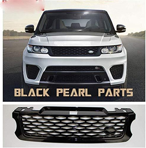 XBXDM Parrilla Delantera Abs Grill Grill SVR Style para Land Rover para Range Rover Sport 2005-2009