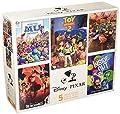 Ceaco Disney Pixar 5-in-1 Multipack Puzzles Includes (2) 300 Piece, (2) 550 Piece, (1) 750 Piece Puzzle